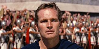 Charlton Heston in una scena di Ben-Hur del 1959. Fonte Wikipedia