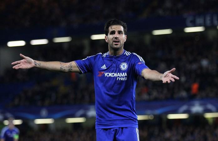 Cesc Fabregas, fonte By joshjdss - Chelsea Vs Maccabi Tel-Aviv, CC BY 2.0, https://commons.wikimedia.org/w/index.php?curid=43378286
