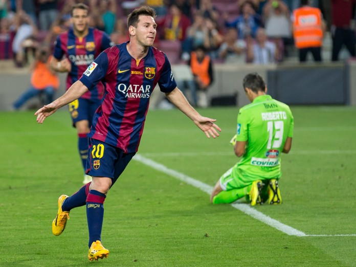Lionel Messi, fonte By Lluís from Sabadell (Barcelona), España - LFS_14039, CC BY 2.0, https://commons.wikimedia.org/w/index.php?curid=36260000