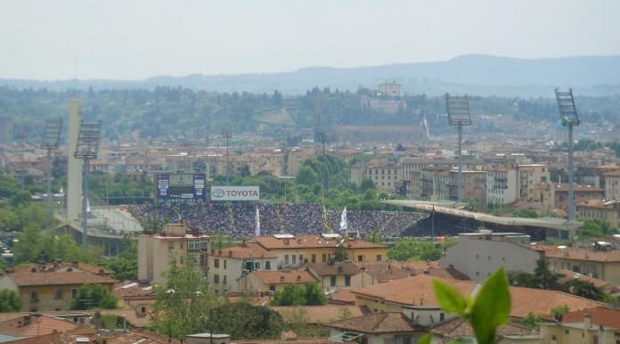 Stadio Artemio Franchi, casa della Fiorentina, fonte By I, Sailko, CC BY 2.5, https://commons.wikimedia.org/w/index.php?curid=4062996