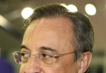 Florentino Perez, presidente del Real Madrid, fonte By Mohan, www.dohastadiumplusqatar.com - http://www.flickr.com/photos/dohastadiumplusqatar/6427035873/in/photostream/, CC BY 2.0, https://commons.wikimedia.org/w/index.php?curid=18224193