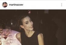 Lady Bonucci sul suo profilo Instagram