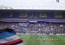 Stadio Marassi, casa di Sampdoria e Genoa, fonte Pubblico dominio, https://it.wikipedia.org/w/index.php?curid=1128063