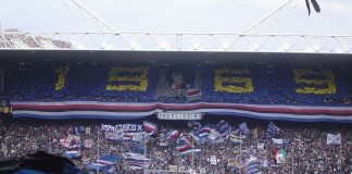 Stadio Marassi, casa di Sampdoria e Genoa, fonte Pubblico dominio, https://it.wikipedia.org/w/index.php?curid=1128063