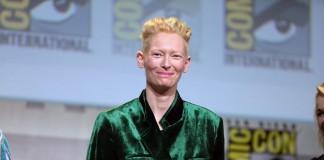 "Tilda Swinton, una delle protagoniste del film ""Okja"", font Flickr"