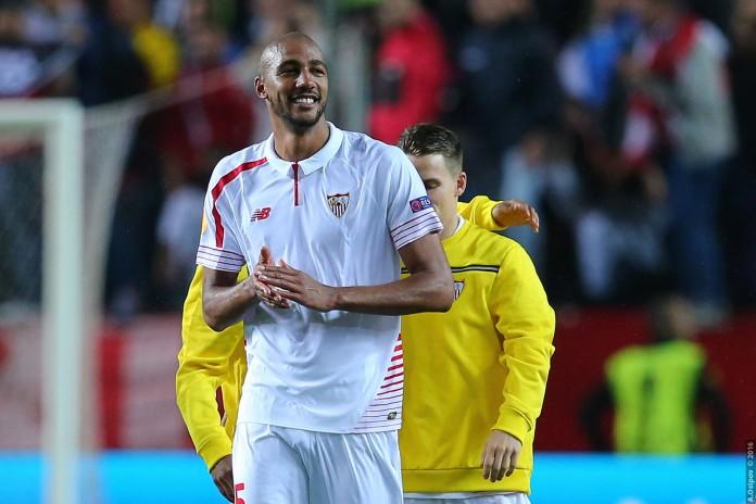 Steven N'Zonzi, fonte By Aleksandr Osipov from Ukraine - 05/05/2016 - Sevilla FC - FC Shakhtar Donetsk - 3:1, CC BY-SA 2.0, https://commons.wikimedia.org/w/index.php?curid=56549374