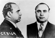 Al Capone nel 1931. Fonte Wikipedia