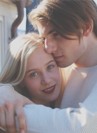 Noora e William, font pinterest