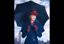 Emily Blunt in Mary Poppins Returns, fonte screenshot youtube