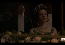 Claire Foy in The Crown stagione 2, fonte screenshot youtube