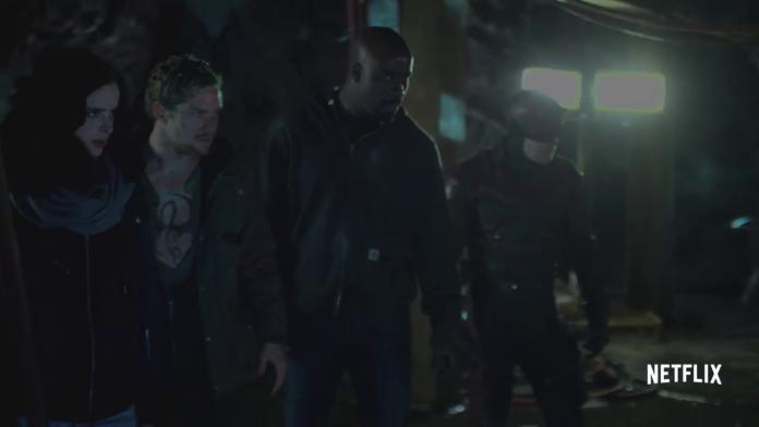 The Defenders, Netflix, fonte screenshot youtube