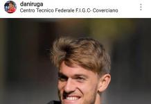 Daniele Rugani sul proprio profilo Instagram