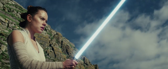Star Wars: Gli ultimi Jedi, fonte screenshot youtube