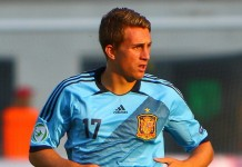 Gerard Deulofeu fonte foto: By Catherine Kõrtsmik from Tallinn, Estonia - U-19 Portugal vs Spain.Uploaded by Dudek1337, CC BY 2.0, https://commons.wikimedia.org/w/index.php?curid=20205394