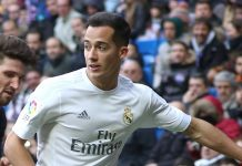 Lucas Vazquez, fonte By Ruben Ortega - Own work, CC BY-SA 4.0, https://commons.wikimedia.org/w/index.php?curid=48370883