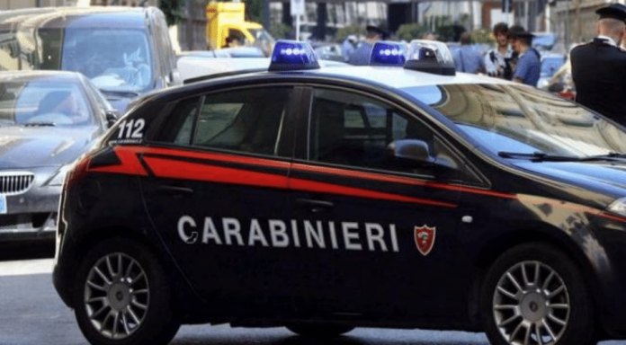 Carabinieri - Violenza Catania