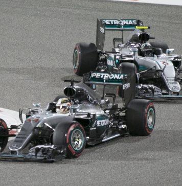 Mercedes, Hamilton, Bottas