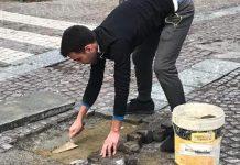 Luca Milone, 22 anni, operaio manutentore alla cartiera Ahlstrom di Mathi