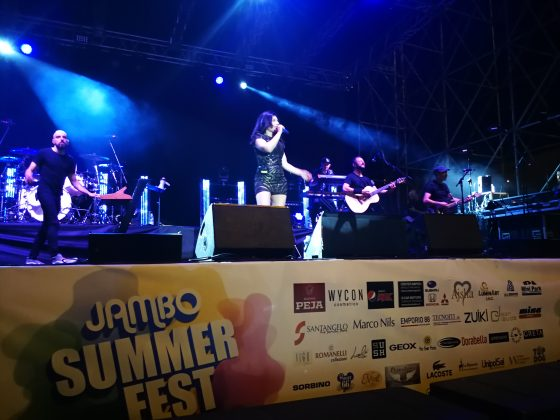 Giusy Ferreri al Jambo
