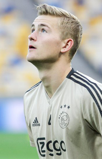 Matthijs de Ligt, fonte Di Football.ua, CC BY-SA 3.0, https://commons.wikimedia.org/w/index.php?curid=72122733