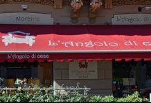 """Foto dell'entrata del Ristorante """"L'Angolo di Casa"""" a Milano, Foto TripAdvisor"""