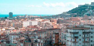 Caldo torrido a Napoli