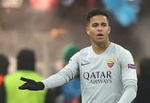 Justin Kluivert, fonte By Антон Зайцев - https://www.soccer.ru/galery/1078262/photo/760424, CC BY-SA 3.0, https://commons.wikimedia.org/w/index.php?curid=74242719