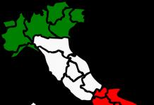 Nuovo cambio colore, Cambio colore, 6 regioni, Regioni a rischio