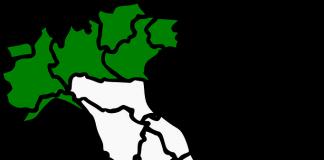 6 regioni, Regioni a rischio