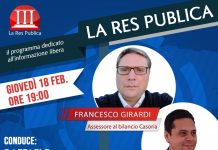 Giovedì 18 febbraio 'La Res Publica' ospita due importanti politici del Comune di Casoria