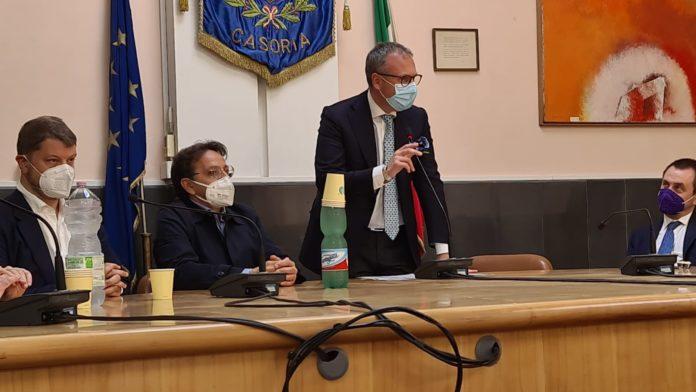 Il vicepresidente della camera a Casoria dal sindaco Bene